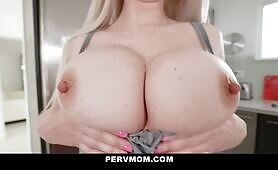 Good Stepson Delivers gigantic Titted Milf Astrid Star giant Load Of sperm In Her cunt To Get Her Pregnant